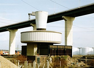 Dartford Crossing - A ventilation shaft to the north of the east tunnel