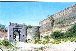 Mandsaur Fort human settlement in India