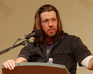 David Foster Wallace - Wallace giving a reading for Booksmith at All Saints Church, San Francisco in 2006