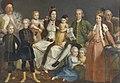 David George van Lennep (1712-97). Opperkoopman van de Hollandse factorij te Smyrna met zijn vrouw en kinderen Rijksmuseum SK-A-4127.jpeg