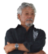 David Suzuki (arms crossed)