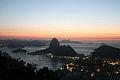 """Dawn in Rio de Janeiro, seen from """"Mirante Dona Marta"""".JPG"""