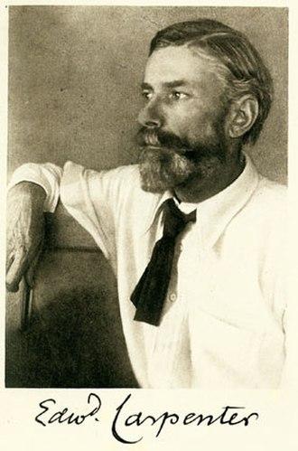 Edward Carpenter - Image: Day, Fred Holland (1864–1933) Edward Carpenter