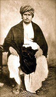 Dayananda Saraswati founder of the Arya Samaj, a Hindu reform movement in India