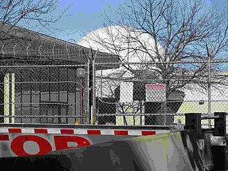 Aerospace Data Facility-East - The facility's south radome