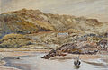 De Wint P. attr. (attributed to) - Watercolour - English estuary scene - 35.6x22.9cm.jpg