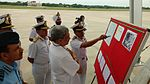 Defence Minister Manohar Parrikar reviews search operations for missing Air Force aircraft AN-32 (1).jpg