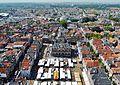 Delft Blick von der Nieuwe Kerk auf den Marktplatz 2.jpg