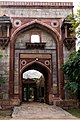 Delhi-Humanyum's tomb area-Arab Serai gate-20131006.jpg