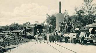 'Steam Slide Cecil Rhodes' at the Demerara Essequibo Railway near Wismar on the Demerara River Demerara-essequibo-railway-at-british-guiana-wismar-demerara-river.jpg