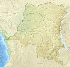 Inga dams is located in Democratic Republic of the Congo