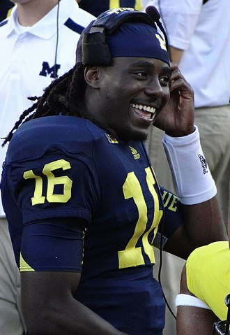 Denard Robinson - Robinson at Michigan Stadium in September 2012