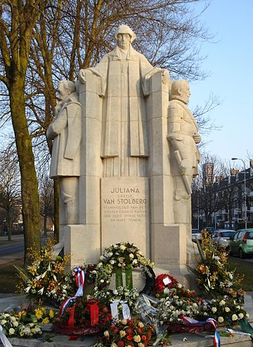 Denhaag monument juliana van stolberg