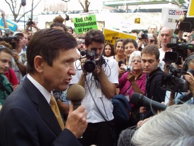 Dennis Kucinich 2004 Democratic National Convention