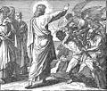 Der liebende Jesus jagt Dämonen in unschuldige Schweine.jpg