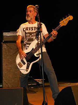 Karl Alvarez - Alvarez performing with the Descendents in 2014