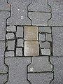 """Detail Stolperstein for Dr. Rosa """"Rosel"""" Goldschmidt Luisenstraße 6 63067 Offenbach.JPG"""