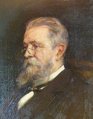 William Lowthian Green - Portrait by Frederic Yates
