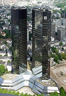 Central de Deutsche Bank en Fráncfort