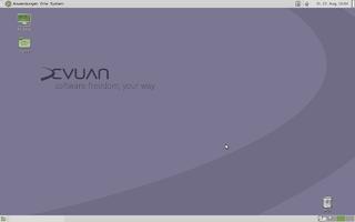 Devuan GNU/Linux distribution based on Debian