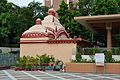Dhakeshwari Mandir - South-western View - Dhakeshwari National Temple Complex - Dhaka 2015-05-31 2683.JPG