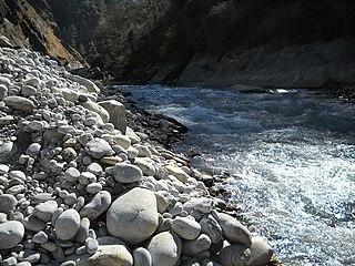 Dhauliganga River river in Uttarakhand, India