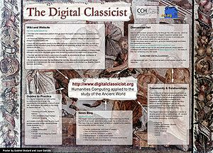 Digital Classicist -  Digital Classicist poster from DRH 2005