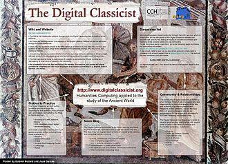 Digital Classicist - Digital Classicist poster from DRH 2005