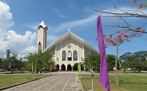 Immaculate Conception Cathedral, Dili - Image: Dili Sé