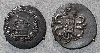 Attalid dynasty - Image: Dinastia attalide di pergamo, cistoforo di pergamo, 160 150 ac ca
