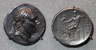 Mithridates III of Pontus - Tetradrachm di Mithridates III of Pontus