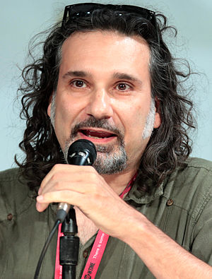 Dino Stamatopoulos - Stamatopoulos at the 2014 San Diego Comic-Con