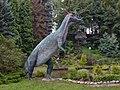 Dinosaur in Chorzow ZOO - panoramio.jpg