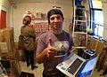 Director Tim Manning, Redd Kross at Room 205, 2012-11-29.jpg
