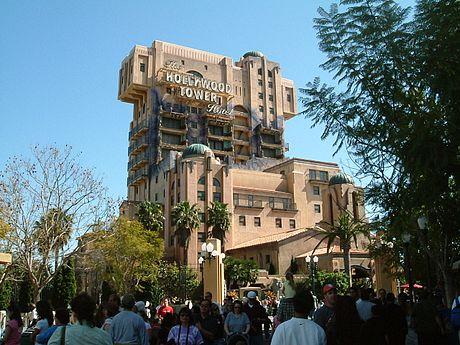 DisneyCaliforniaAdventureTowerOfTerror
