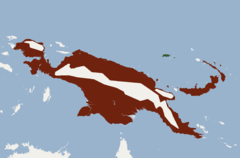 Distribution of Pteropus neohibernicus.png