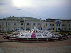 Central square in Dmitrov