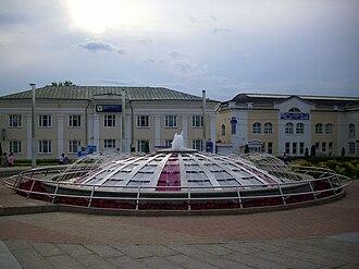 Dmitrov - Central square in Dmitrov
