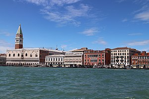 Immagine Doge's Palace facing the sea (Venice) 20150817-3.jpg.