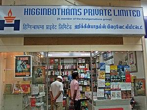 Higginbotham's - Higginbotham's store inside the Anna international terminal, Chennai Airport