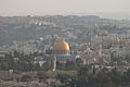 Dome of the rock - View from Mount Scopus - Jerusalem (5101535558).jpg