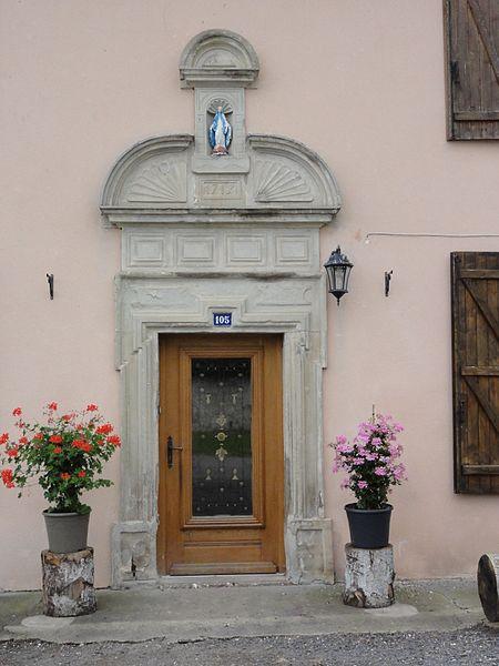 Porte maison