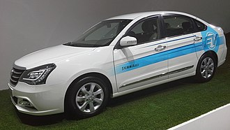 Dongfeng Fengshen A60 - Dongfeng Fengshen A60 EV Concept