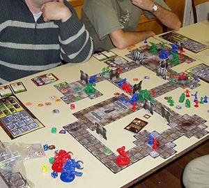 Doom: The Boardgame - A game in progress