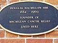 Douglas Macmillan plaque - geograph.org.uk - 460372.jpg