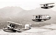 Douglas PD-1s VP-4 over Hawaii 1930