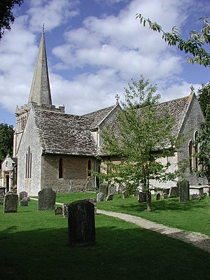 Down Ampney - All Saints Church, Down Ampney