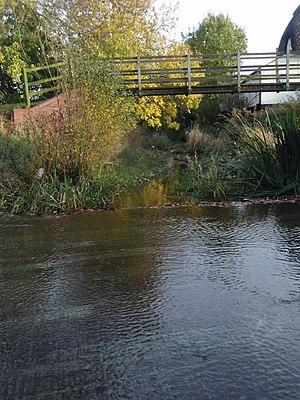 Alconbury Weston - Image: Down Stream On The Alconbury Brook geograph.org.uk 1040635
