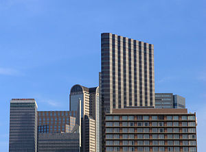City Center District, Dallas - The majority of these buildings are within the City Center District