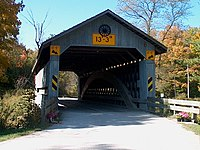 Doyle Road (Ashtabula County, Ohio) Covered Bridge 1.jpg
